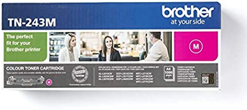 Brother TN-243M Toner Magenta, 1000 Pages