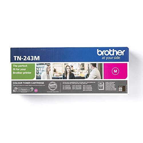 Brother TN 243M Tonerkassette fur Brother DCP L3510CDW DCP L3550CDW HL L3210CW HL L3230CDW HL L3270CDW MFC L3710CW MFC L3730CDN MFC L3750CDW und MFC L3770CDW magenta