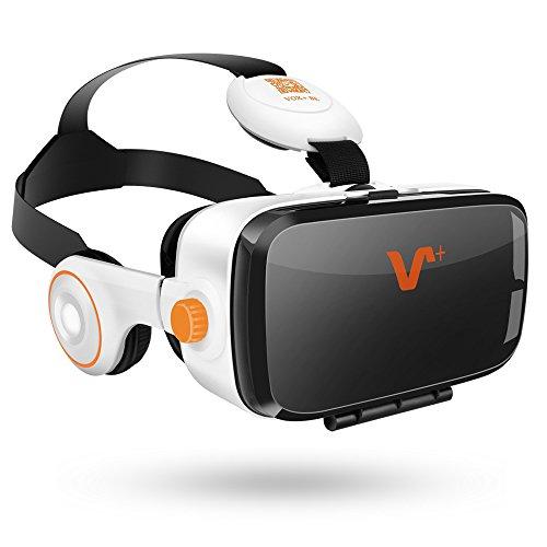 VOX VR BE gafas de realidad virtual Headset gafas 3D con el auricular de 4.0 a 6.2 pulgadas de teléfonos inteligentes