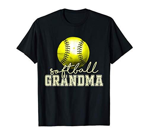 Vintage Softball Grandma T-Shirt