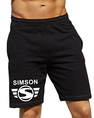 Artshirt-Factory Simson Shorts (L, Schwarz)