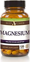 Chelated Magnesium Capsules - Supports Kreb's Energy Production - 60 Servings - by Suzy Cohen, RPh