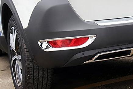 ABS cromado trasera antiniebla Luz Lámpara de Coche 2pcs para coche accesorios