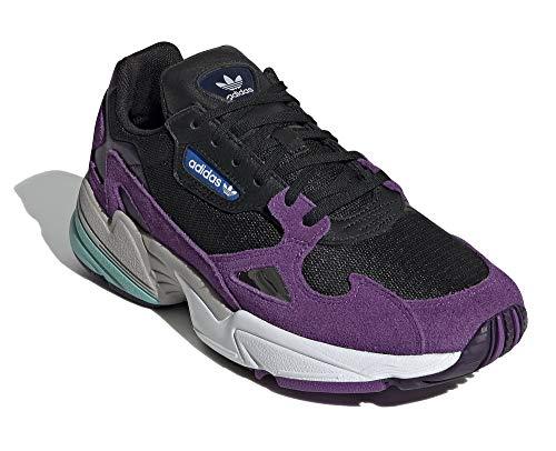 adidas Damen Falcon W Sneaker Lila, 37 1/3