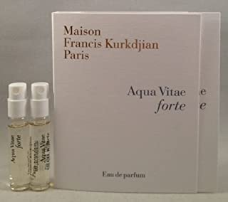 2 Maison Francis Kurkdjian Aqua Vitae Forte EDP Spray Sample Vial 2 Ml/.06 Oz
