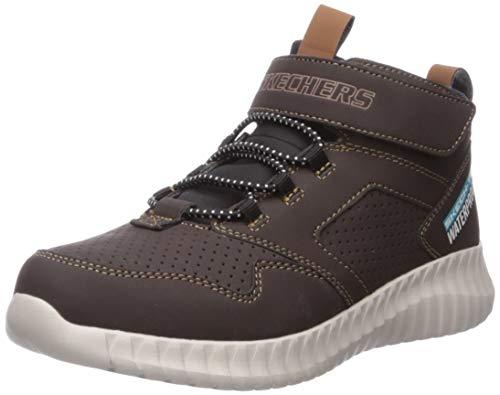 Skechers Elite Flex-Hydrox, Zapatillas, Negro (Choc Black Synthetic/Trim), 31 EU