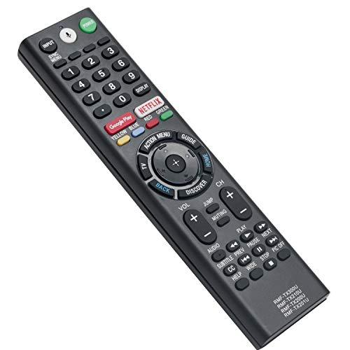New RMF-TX300U RMF-TX201U RMF-TX200U Replace Voice Remote Control with Mic fit for Sony Smart 4K Bravia TV HDTV XBR-43X800D XBR-49X800C KDL-55W800C XBR-49X900E XBR-55X55DS XBR-65X850C XBR-75X850C