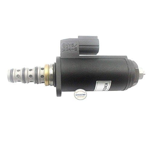 Sinocmp Pompe hydraulique Électrovanne Sky5-g24-a (BULE point) pour Kobelco Sk240 Sk250