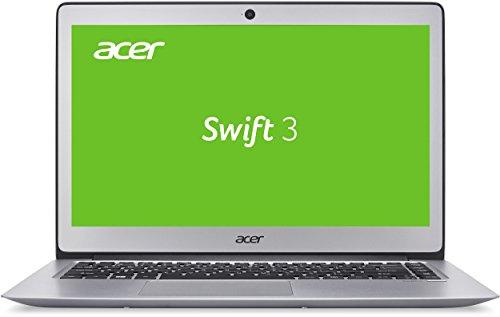 Acer Swift 3 SF314-51-394Z 35,6 cm (14 Zoll Full HD IPS) Ultrabook (Intel Core i3-6100U, 4GB, 128GB SSD, Intel HD, Win 10) silber