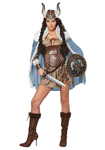 California Costumes Viking Vixen Costume–Size Larg