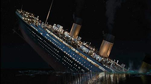 MAIYOUWENG Puzzle 1000 Teile Erwachsene Puzzle Holzpuzzle Klassisches Puzzle - Titanic-Sinking-Ship-Scene - DIY Collectibles Moderne Wohnkultur,75X50Cm
