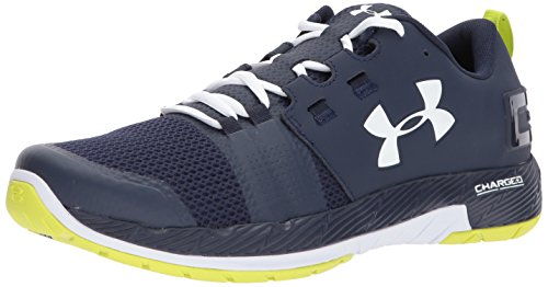 Under Armour Men's UA Commit Training Shoes, Black/White, 10
