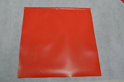 2 Stück Endfahne Schlussfahne Rot 30 x 30 cm Warnflagge überstehende Ladung Finne gem. StVO