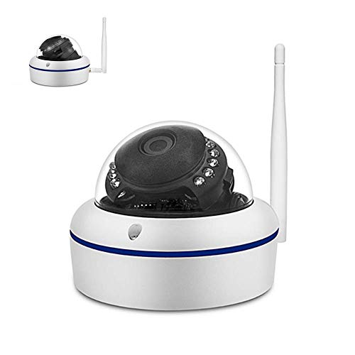 Safe2Home® 1x Funk Dome Bewakingscamera Full HD Cam voor Safe2Home Camera Set Secure S1.0 - single/enkel - Funk Camera 2,4 GHz - Nachtzicht