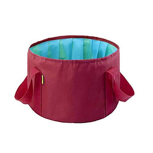 KAEHA bags-15 Viaje Espesamiento portátil Lavabo de Gran Capacidad Aire Libre Cubo de Frutas Bolsa Plegable