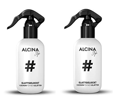 2er Locken Föhnen Glätten Lotion Glattgelockt #Style Alcina 100 ml