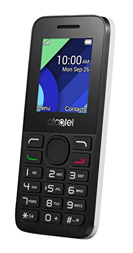 Alcatel Handy (4,57 cm (1,8 Zoll) Display, VGA Kamera) weiß