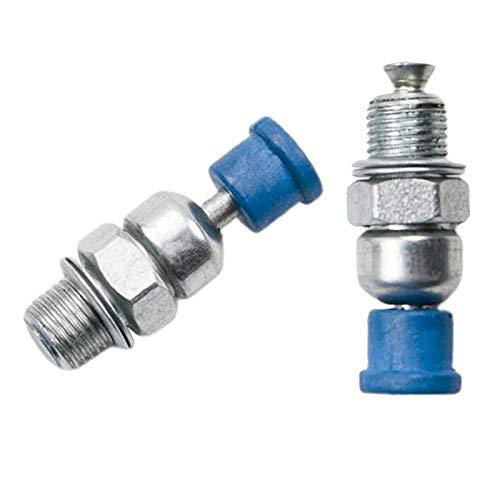 Baoblaze 2 piezas de descompresión válvulas de reemplazo para Husqvarna modelos 50 51 55 272, 340, 345, 346 346XP