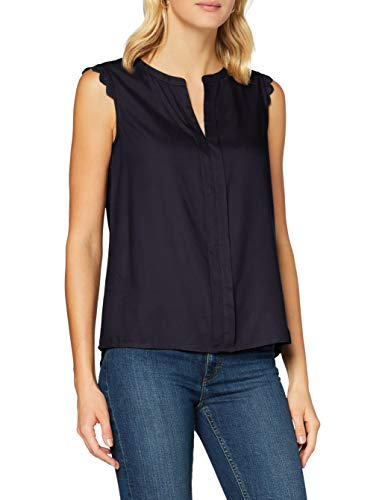 ONLY Damen onlKIMMI S/L WVN NOOS Top, Blau (Night Sky Night Sky), (Herstellergröße: 34)