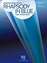 Rhapsody in Blue for Piano Duet: Later Intermediate to Advanced Level / 1 Piano, 4 Hands