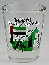 Dubai United Arab Emirates (UAE) Landmarks Collage Shot Glass