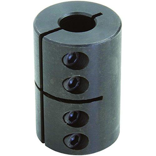 Climax Part RC-050 Mild Steel Black Oxide Plating Rigid Coupling 1//2 inch bor...
