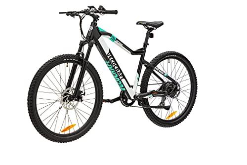 VecoCraft elektrofahrräder 27.5 Zoll mit 375Wh Samsung Zellen Akku, ebike mit USB Anschluß, Damen und e Bike Herren Pedelec mit LCD Display, ebike Mountainbike