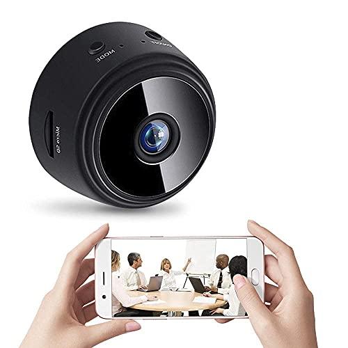 Mini CáMara EspíA HD 1080p, Grabadora WiFi PequeñA Oculta, VisióN Nocturna Y DeteccióN de Movimiento, para la Seguridad del Bebé, Hogar, Oficina, Monitoreo de Automó Viles