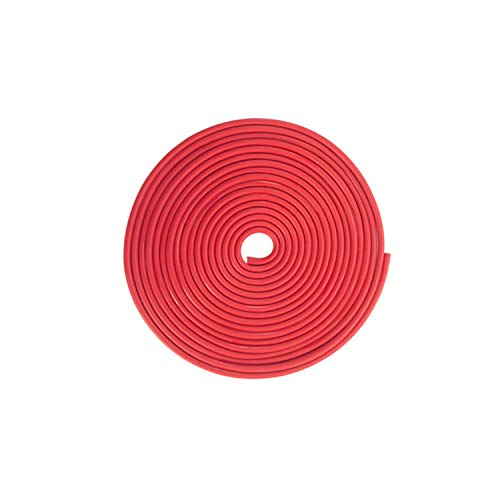 Tuokay 32.8ft 10m TPO Gummi Autotür Schutz, Autotür Kantenschutz, Auto Schutzleisten für Tür Rand, Trunk Tür, Metallkanten (Rot)