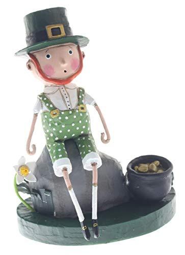 Lori Mitchell 13308 Leprechaun Boy Figurine 5.5'