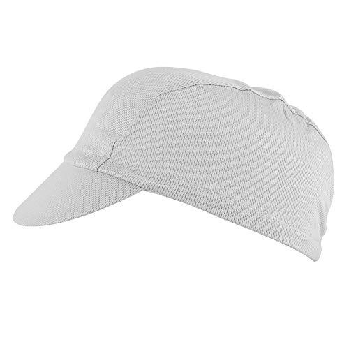Nicoone Gorra de béisbol ajustable, color gris, para ciclismo, protección de deportes al aire libre, equitación, bicicleta de carretera