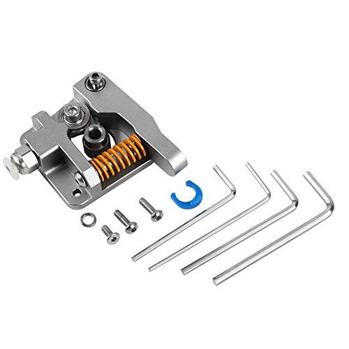 Actualización de extrusora de aluminio duradero de fácil desmontaje, kit de alimentación de unidad de extrusora de alta calidad, para Mk8 Bowden Ender-3