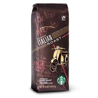 Starbucks Italian Roast, Whole Bean Coffee (1lb)