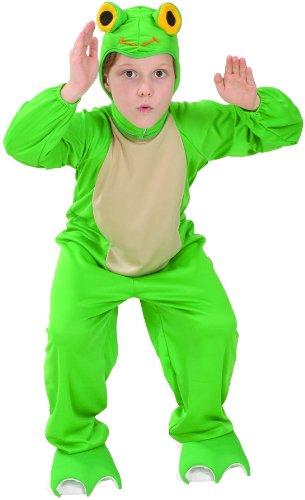 Vegaoo - Froschkostüm für Kinder - 134/140 (10-12 Jahre)