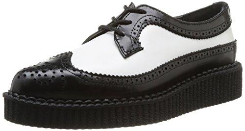 Tuk Pointed Creeper, Unisex-Erwachsene Hohe Sneakers, Schwarz (Black/White), 37