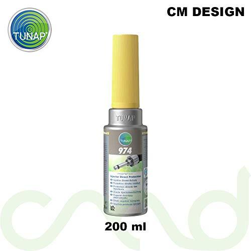 1. Tunap Microflex 974 - Limpiador de inyectores de gasolina (200 ml)