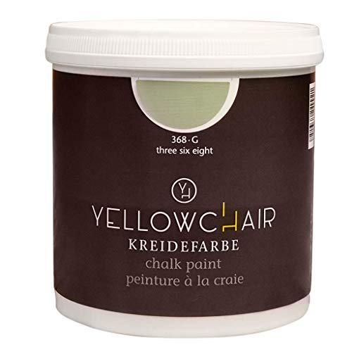 Kreidefarbe yellowchair 1 Liter ÖKO für Wände und Möbel Shabby Chic Vintage Look (No.368G eukalyptus)