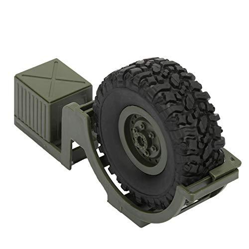 Piezas de la decoración del Coche de RC, neumático de Repuesto de RC del 1:16, para Las Piezas de la decoración del Coche de RC del Coche de RC Camión Militar de RC