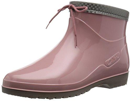 [アキレス] レインブーツ 長靴 作業靴 レインシューズ 日本製 E レディース OLB 0340 ローズ 22.5
