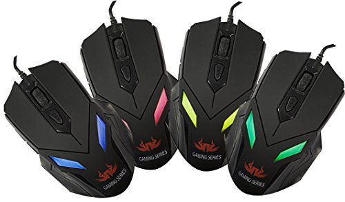 Sumvision LED Gaming Mouse Zark 7 Colour LED Gaming Mouse...