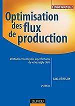 Optimisation des flux de production - Méthodes et outils pour la performance de votre supply chain d'Addi Ait Hssain