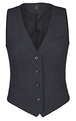 GREIFF Damen-Weste Regular Fit, modern with 37,5, Regular fit, 1714, schwarz, Größe 38