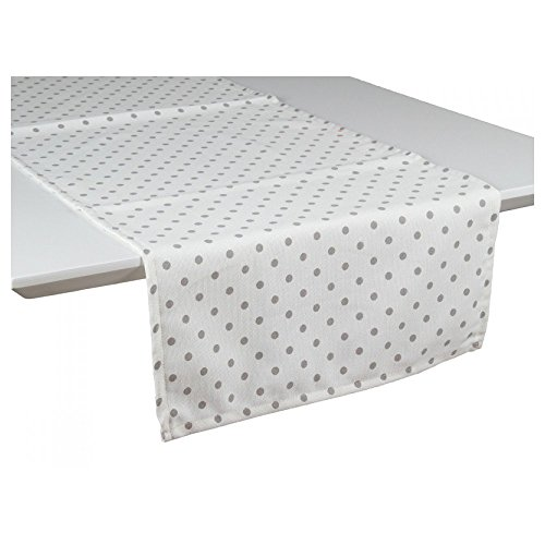 Pons Collection GRIGIO-NAT TABLE RUNNER 40 x 135