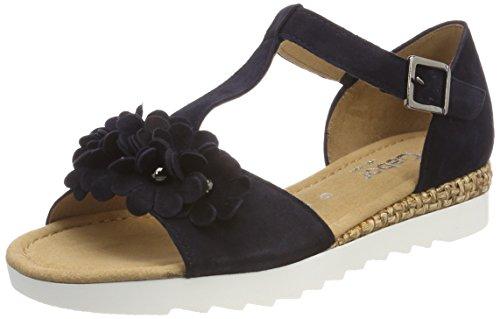 Gabor Shoes Damen Comfort Sport Riemchensandalen, Blau (Atlantik Grata), 38 EU