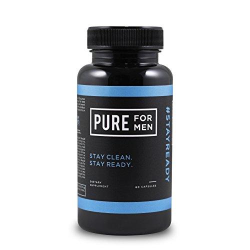 Pure for Men - The Original Vegan Cleanliness Fiber Supplement, 60 Capsules - Proven Proprietary Formula