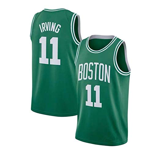 Kyrie Irving # 11 Boston Celtics Award Edition Basketballtrikot, Herren Retro Casual Mesh Ärmellose Weste Besticktes Basketballtrikot (S-2XL)-3-XL