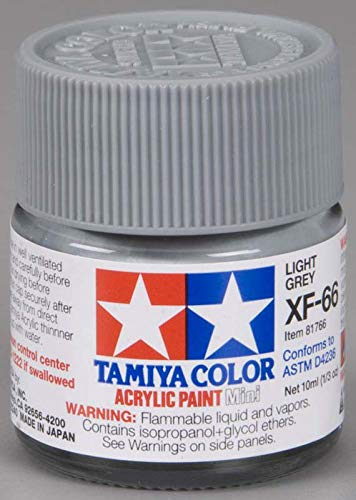 Tamiya – Peinture Acrylique 10ml Gris Claire XF66