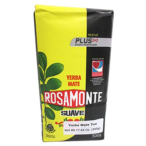 Yerba Mate Rosamonte Suave 500 gr