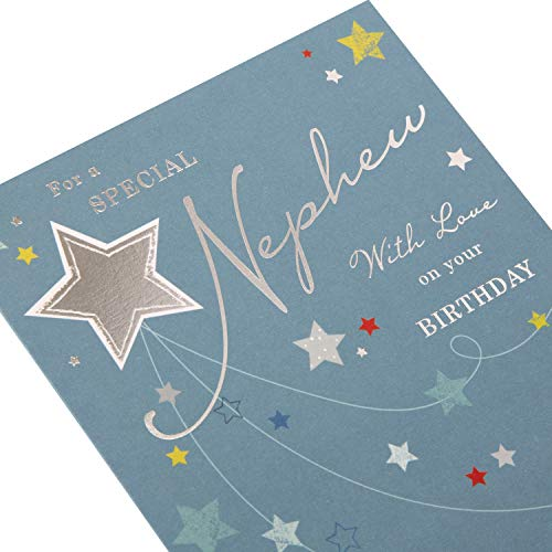 Birthday Card for Nephew from Hallmark - Star Design