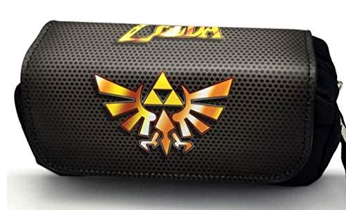 FENGHE Bolsa Dibujos Animados Zelda Estuche para Lápices The Legend of Zelda